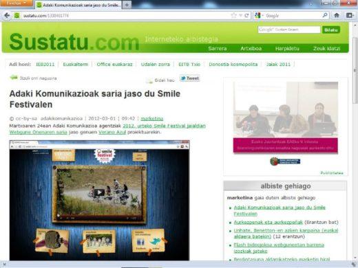 Nueva entrevista en Sustatu