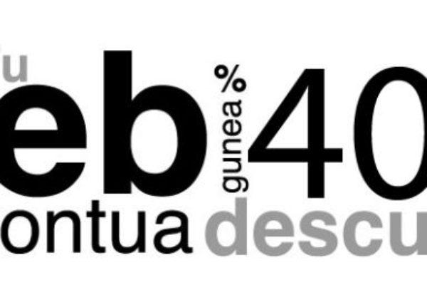 Zure web orrialdearen eraketan %40ra arteko diru laguntza
