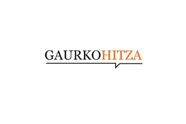 Gaurko Hitzaren 3.urteurrena