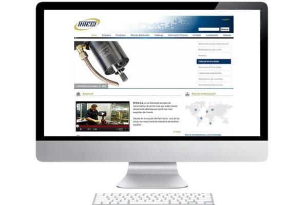 Nueva web para Integi