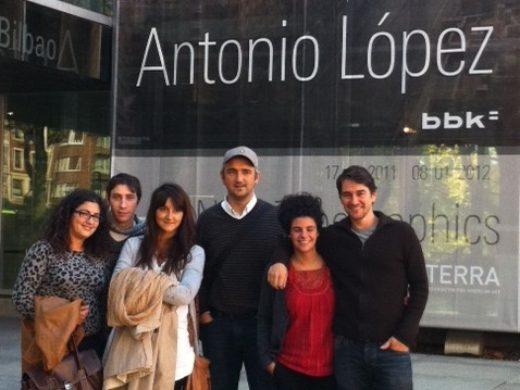 Antonio Lopez artistaren erakusketa