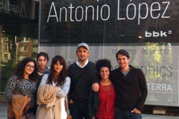 Exposición de Antonio Lopez
