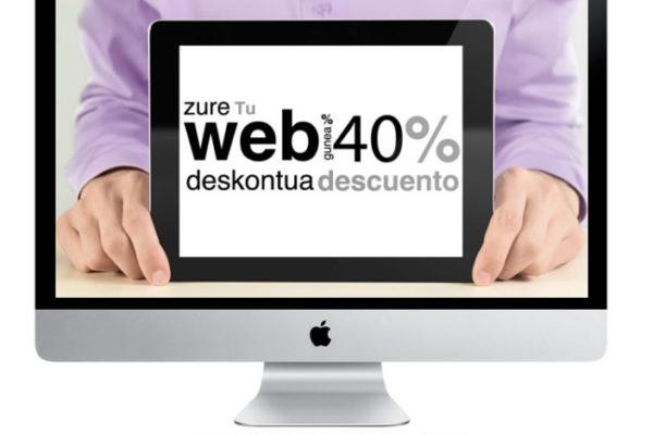 Crea o renueva tu Página web con un 40% de subvención