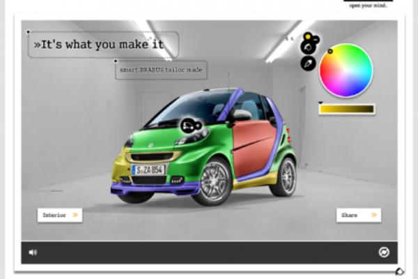 ¿De qué color quieres tu Smart?
