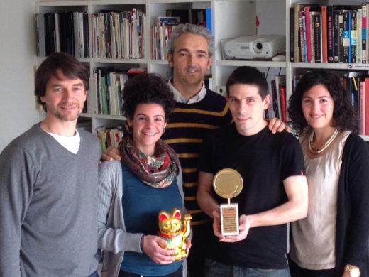 Galardonados en el Smile Festival con Tolosa Merkat