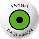 """Logotipo diseñado por Adaki komunikazioa para la campaña """"Tengo baja visión""""."""