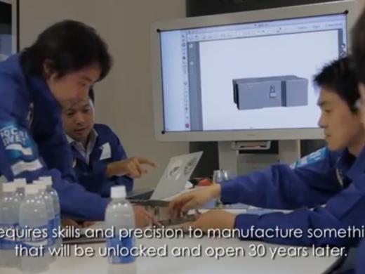 Otsuka enpresa japoniarrak freskagarri bat bidaliko du ilargira publizitatea egiteko