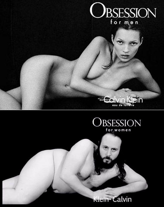 Imágenes sexo en publicidad.