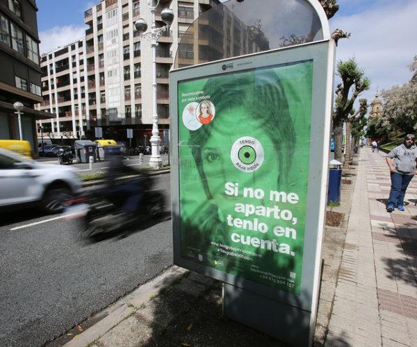 Campaña de publicidad para sensibilizar a la sociedad sobre la existencia de la baja visión