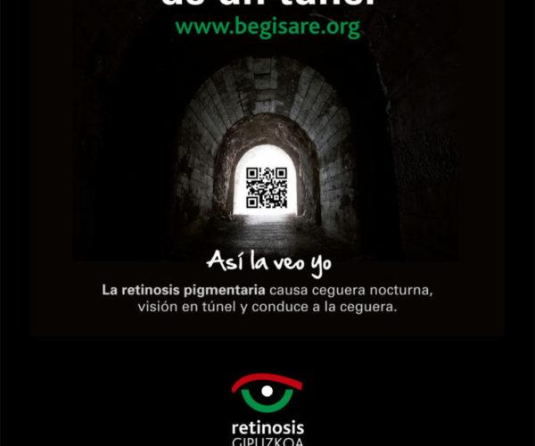 """""""Mi vida a través de un túnel"""", una campaña que recoge los testimonios de personas con retinosis"""