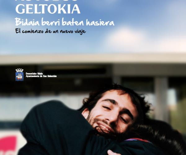 Campaña publicitaria para promocionar  la nueva estación de autobuses de San Sebastián, creada por adaki