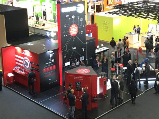 Diseño de stand para Fagor Automation en la BIEMH