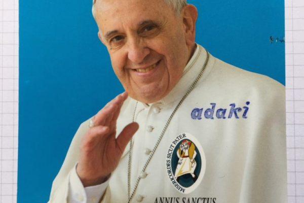 Dagoeneko Bergoglio etxean da.
