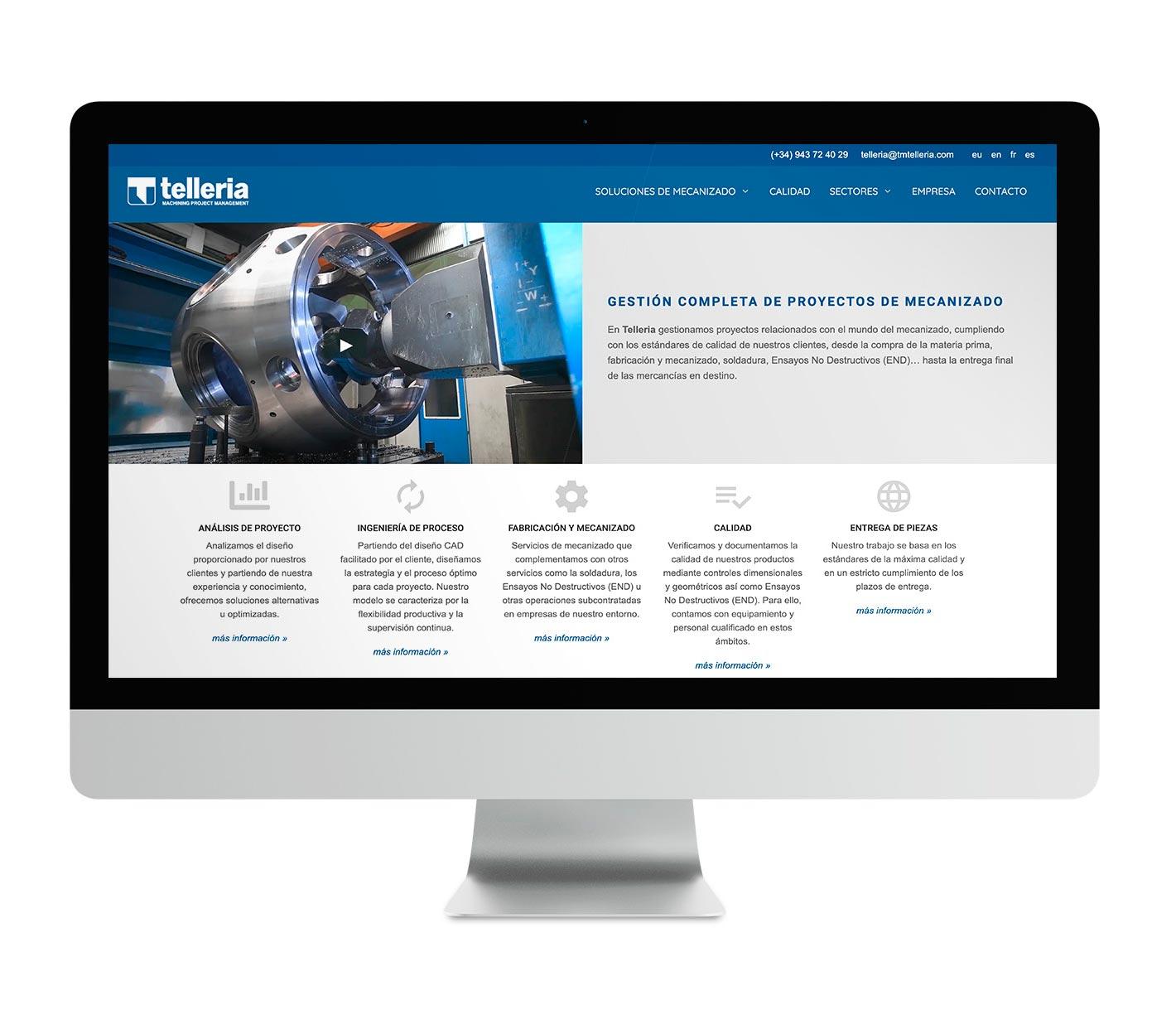 Telleria - Gestión de Proyectos de Mecanizado