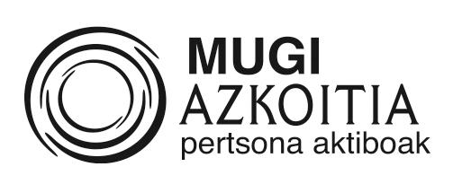 Azkoitia MUGI logoa zurib