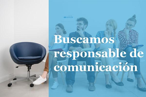 Buscamos responsable de comunicación