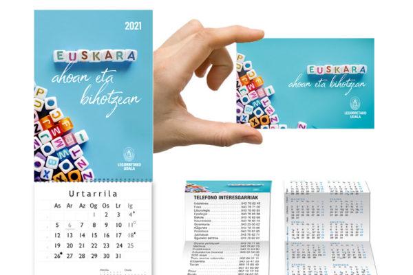 Calendarios personalizados de tu marca